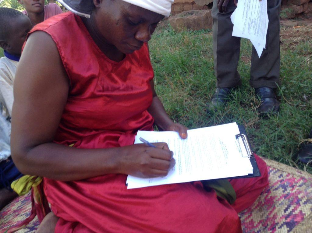 Visiting Widows & Orphans in their distress